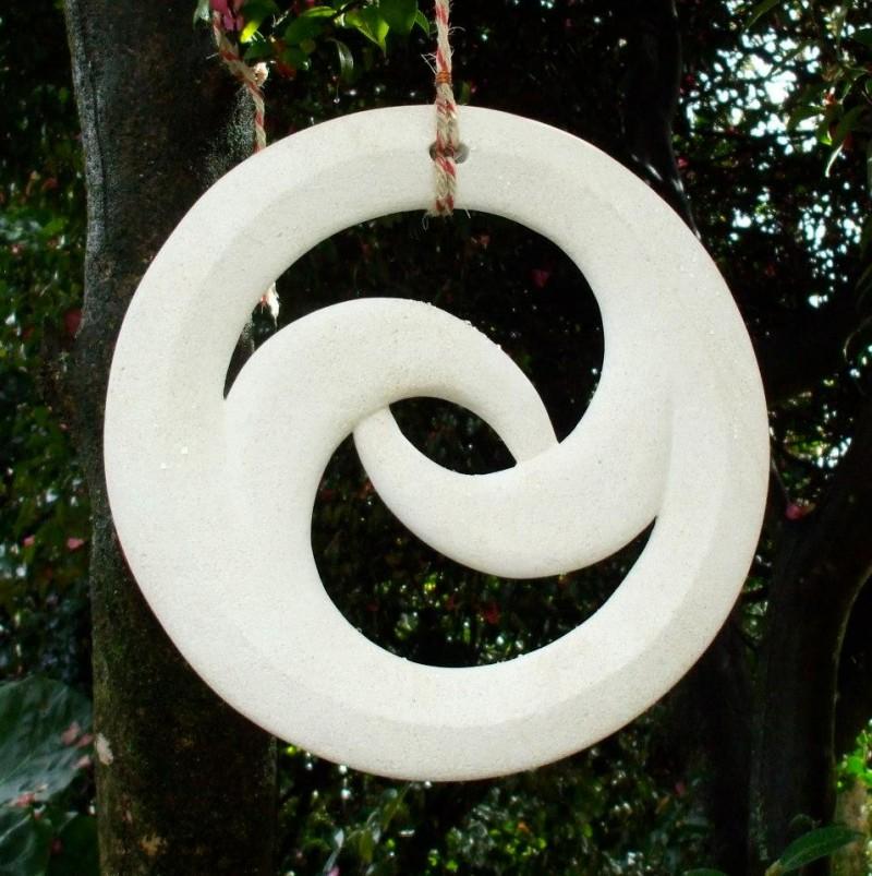 Circular Tree Pendant