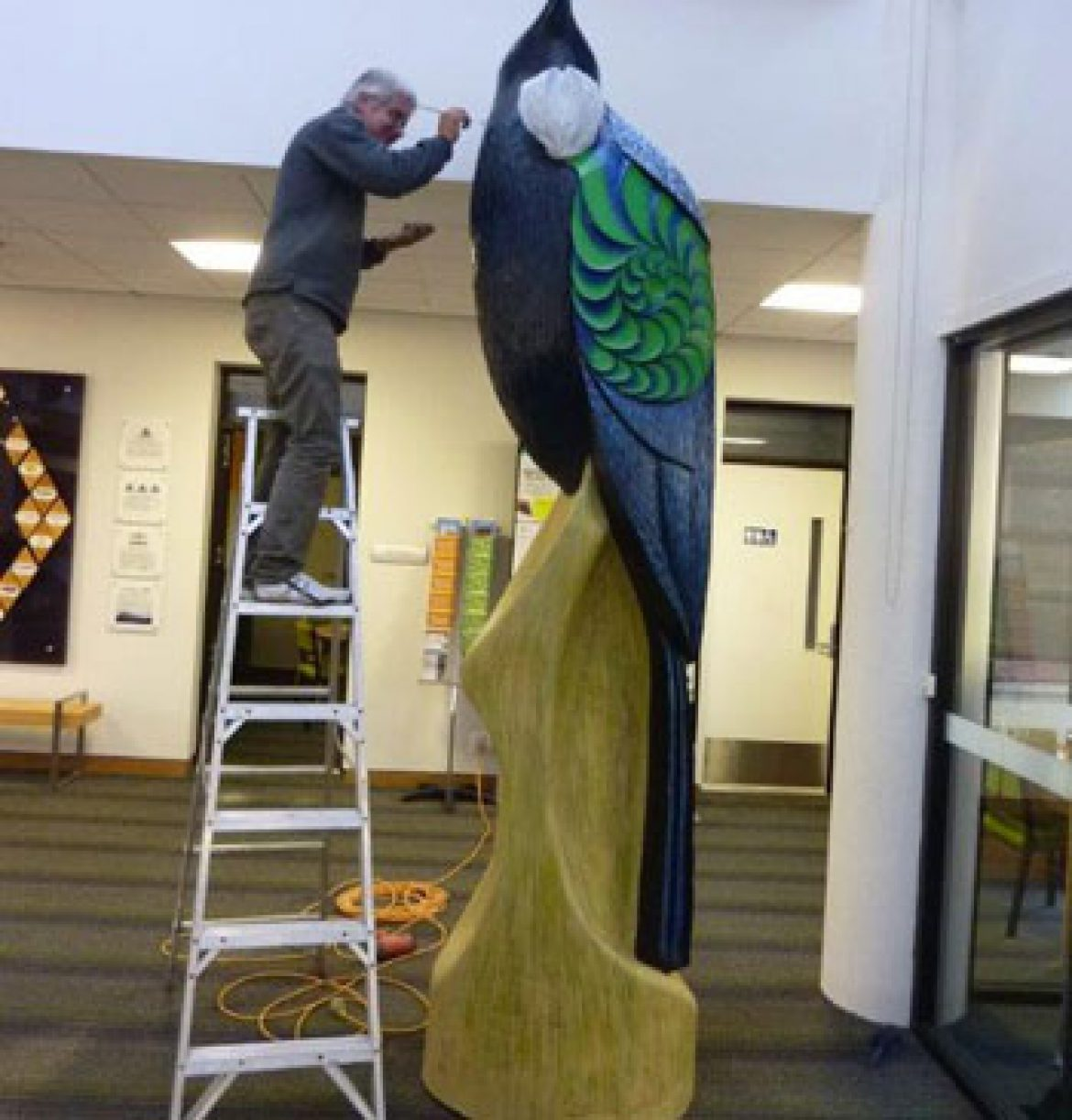 Tui at the Rotorua District Council
